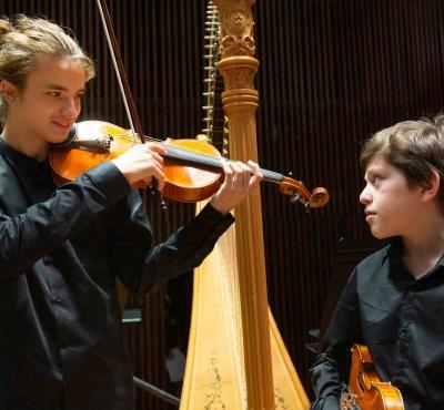 הפילהרמונית הישראלית הצעירה המרכז למוסיקה ירושלים