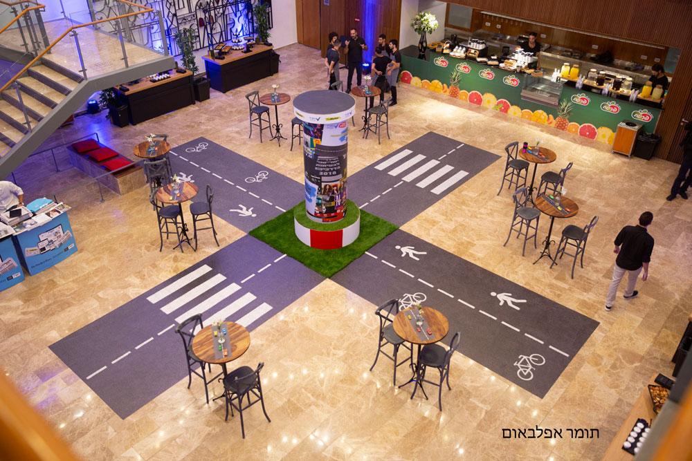 אירוע זהירות בדרכים - היכל התרבות תל אביב